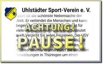 USV-Pause